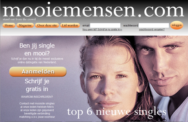 dating sites voor de oudere persoon