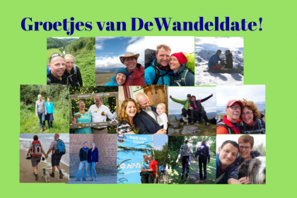 400 Happy Hikers en 1 baby via datingsite DeWandeldate