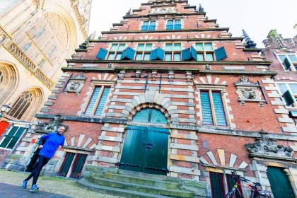 Urban Walk in Haarlem