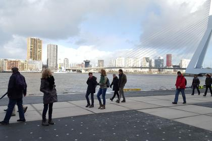 Highlights, Wandelroutes en Wandeldaten in Rotterdam - op de Wilhelminapier in Katendrecht